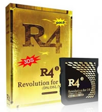 R4i Gold and R4i DSN • Nintendo 3DS R4 Cards